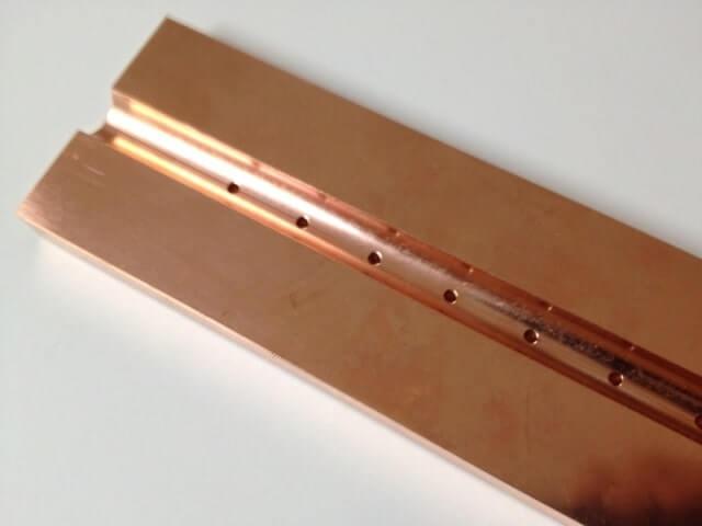 当て板 クロム銅